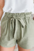 What A Wonderful Day Shorts, Light Olive