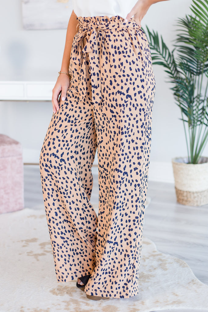 Wild And In Love Pants, Camel