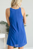 You Found Me Royal Blue Strappy Dress