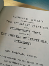 Load image into Gallery viewer, Arthur E. Waite - The Alchemical Writings of Edward Kelly.