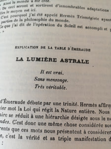 Papus - Traité méthodique de science occulte ( 2 tomes )