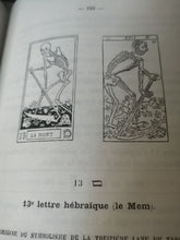 Load image into Gallery viewer, Papus - Le Tarot des Bohémiens.