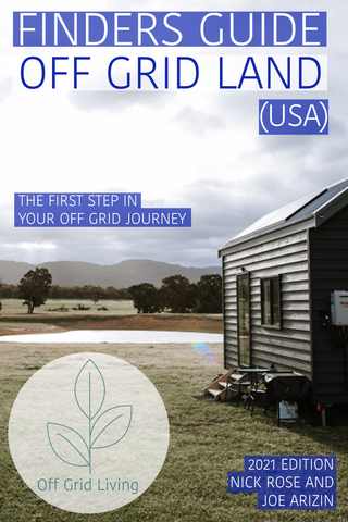 Finder's Guide - Off Grid Land (USA) 2021 ed