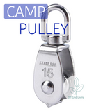 Stainless Steel Pulley - Off Grid Living for Beginners