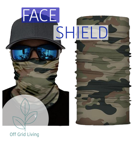 Face Shield - Off Grid Living for Beginners