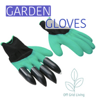 Gardening Gloves with Claws - Off Grid Living for Beginners