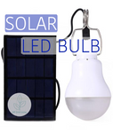 Solar Powered Camping LED Bulb - Off Grid Living for Beginners