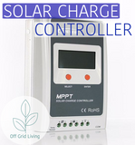 MPPT 30A Solar Charge Controller 12/24V - Off Grid Living for Beginners
