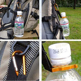 Water Bottle Carabiner - Off Grid Living for Beginners