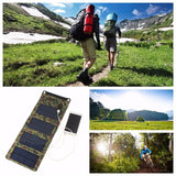 Survival Solar Battery Charger and Power Bank 5.5V 7W 1270mA - Off Grid Living for Beginners