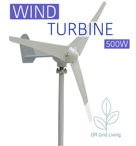 Wind Turbine Generator Kit AC 12/24V - Off Grid Living for Beginners
