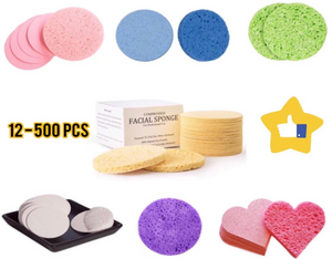 Compressed Cellulose Facial Sponges