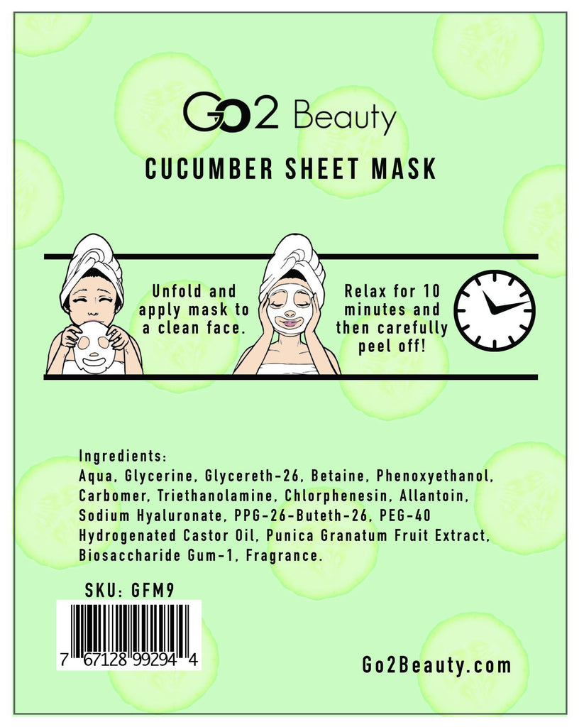Cucumber Sheet Mask - 2
