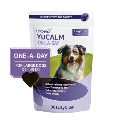 YuCALM One-A-Day Large 30's Front of pack