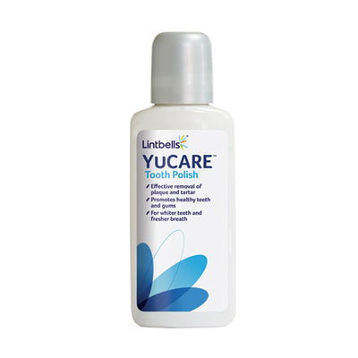 YuCARE Tooth Polish Front of pack shot