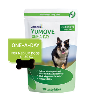 YuMOVE One-A-Day Medium 30's Front of pack