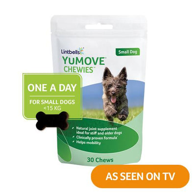 YuMOVE One-A-Day Small Dog Front of pack As seen on TV