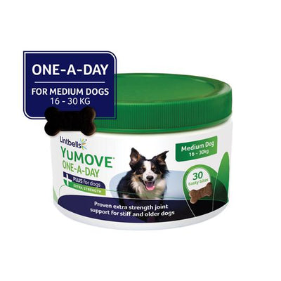 YuMOVE Plus One-A-Day Front of Pack Medium Dog