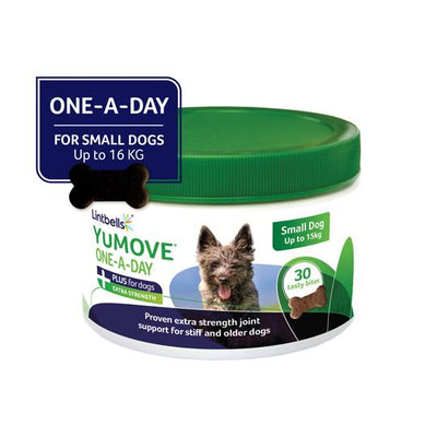 YuMOVE Plus One-A-Day Front of Pack Small Dog