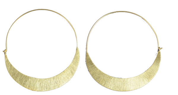 Slim Hoop 24ct Gold Plated