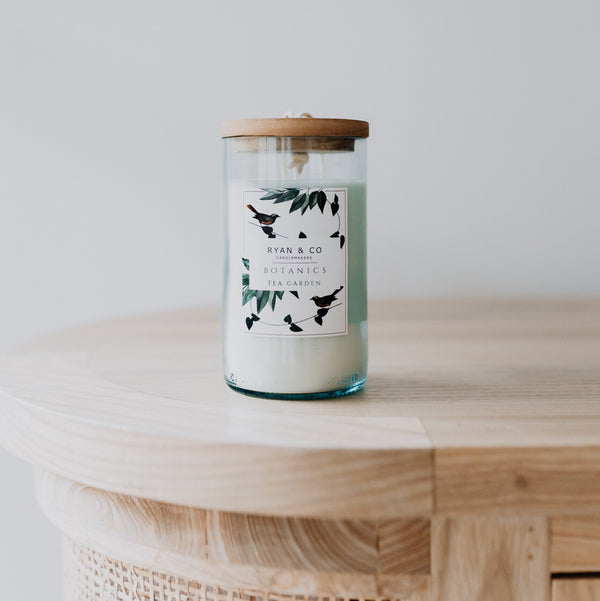 Ginger Flower Candle