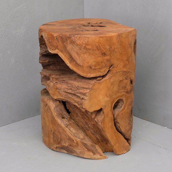 Alin Tree Stump Stool