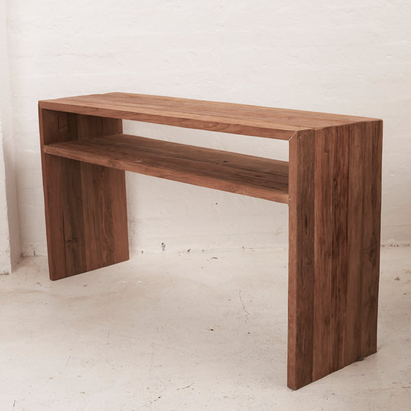 PRE ORDER - Beni Console with Shelf