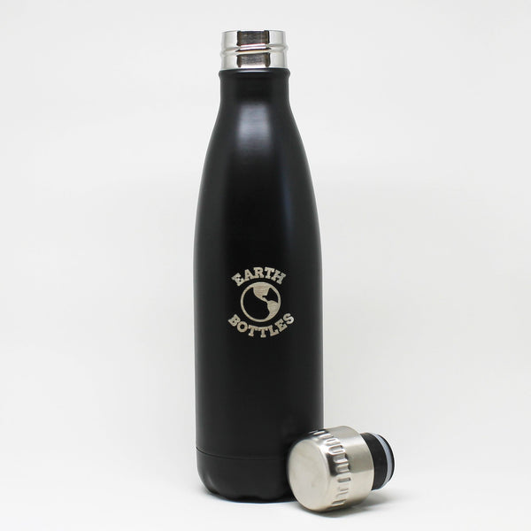 Earth Bottle Matt Black - 500ml