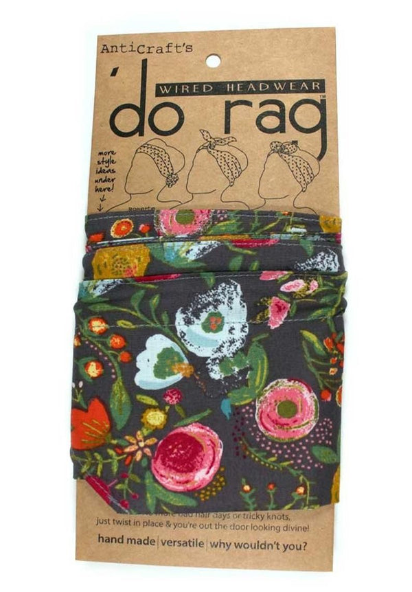 Do Rag Colourful Flowers