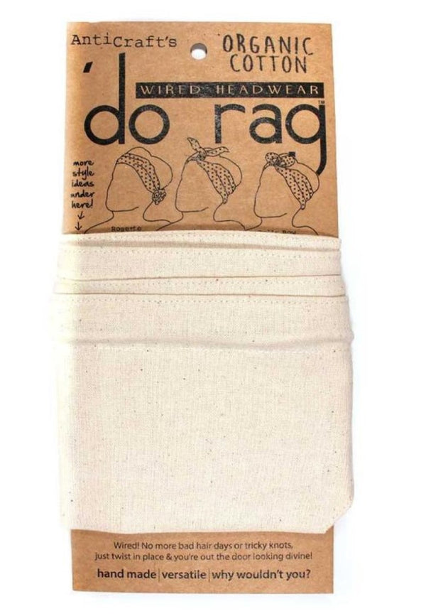 Do Rag Cream/Natural Organic Cotton