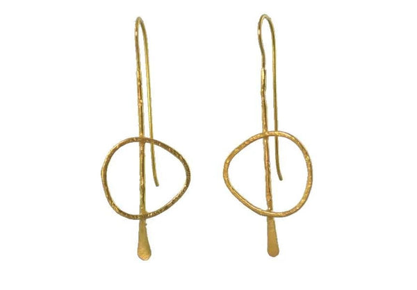 Matisse Drop 24ct Gold Plated