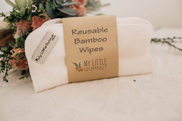 Reusable Bamboo Wipes Pack/5