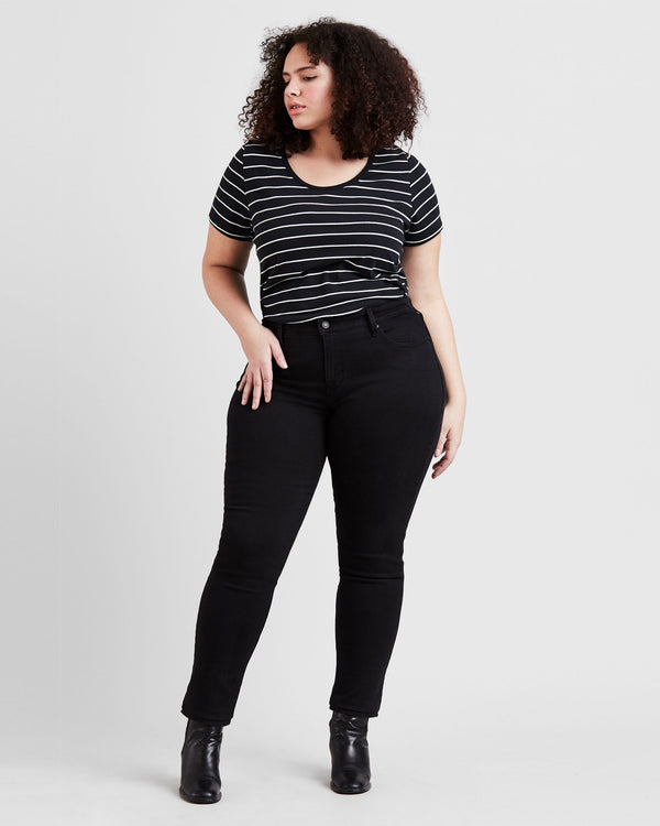 311 Shaping Skinny (Plus) - Soft Black