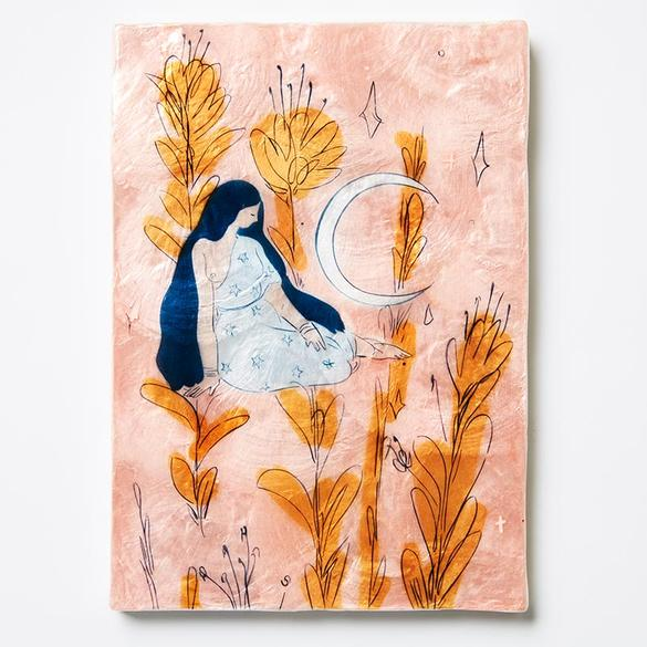 Earth Mama - Blush - Wall Hanging