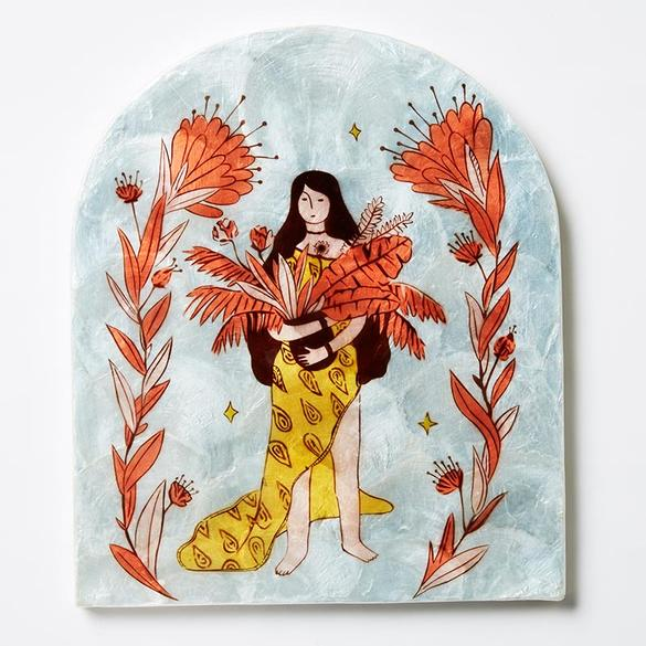 Earth Mama - Sky - Wall Hanging