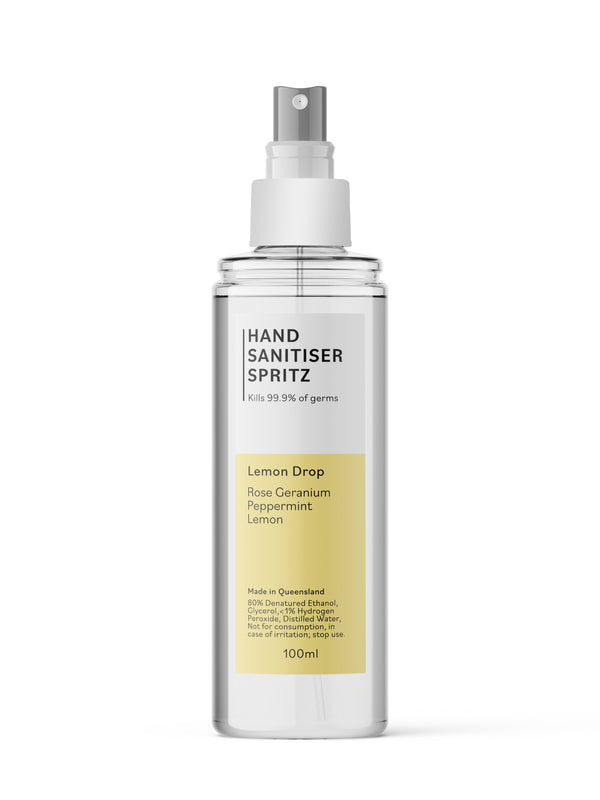 Hand Sanitiser Spritz - Lemon Drop Blend