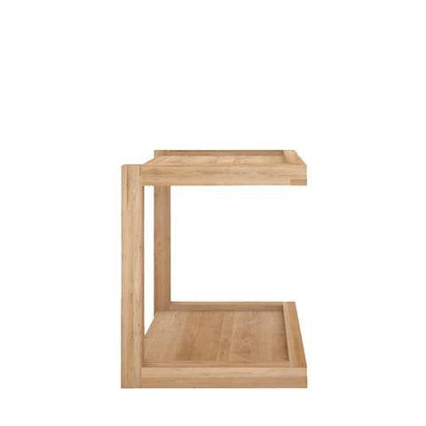 Oak Frame Side Table