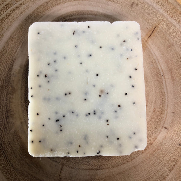 Handmade Soap - Grapefruit, Lime & Poppy Seed