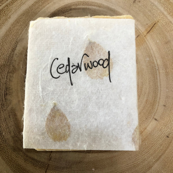 Handmade Soap - Cedarwood