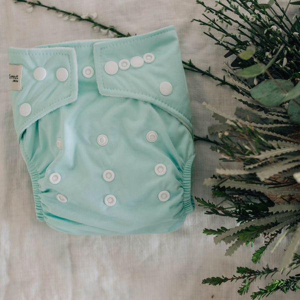 Modern Cloth Nappy - Mint