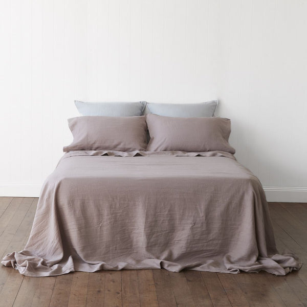 Bed Of Roses 100% French Linen Sheet Set