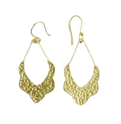 Moroccan Drop 24ct Gold Plated