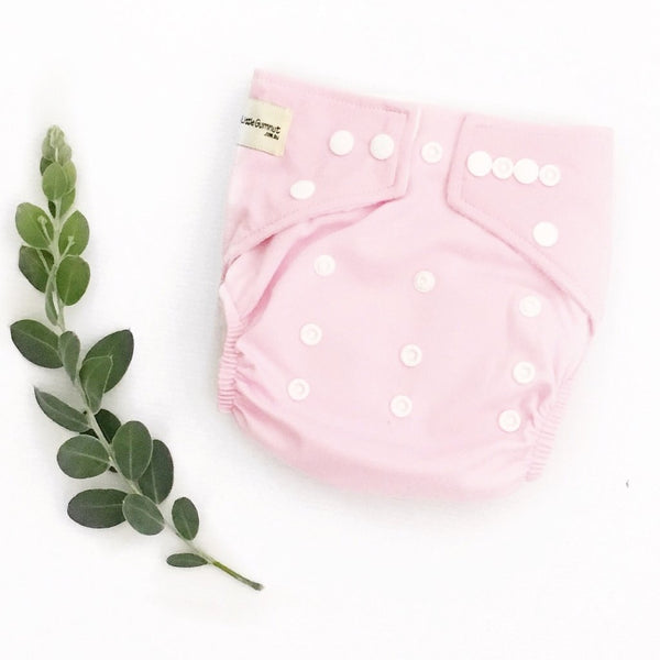 Modern Cloth Nappy - Pink