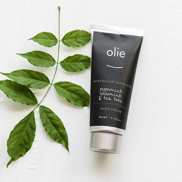 Hand Cream Tube - Peppermint | Spearmint | Tea Tree