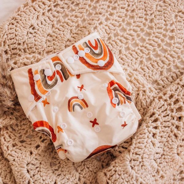 Modern Cloth Nappy - Rainbow
