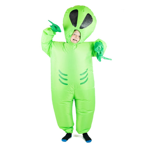 Bodysocks - Kids Inflatable Alien Costume