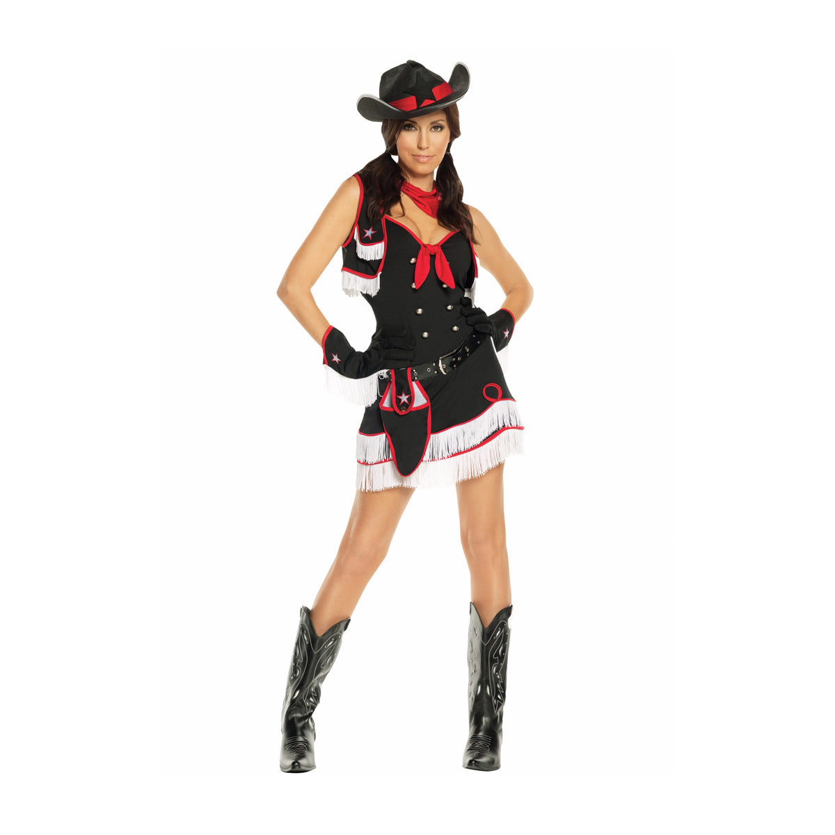 Bodysocks - Women's Western Costume
