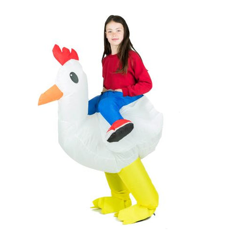 Kids Inflatable Chicken Costume