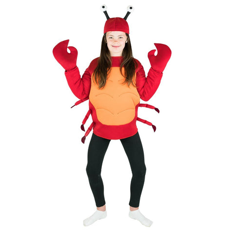 Bodysocks - Kids Crab Costume