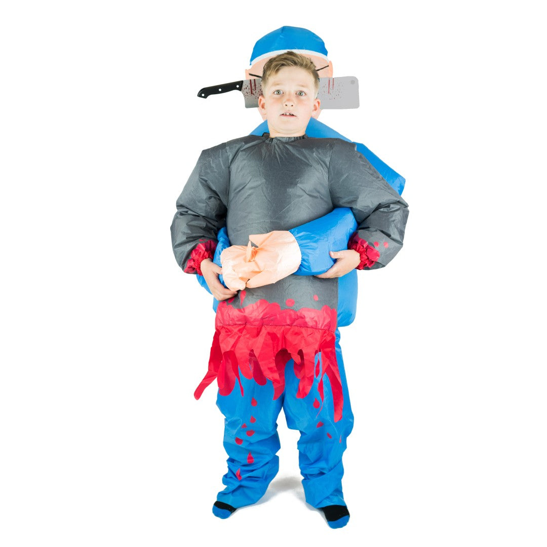 Bodysocks - Kids Inflatable Lift You Up Doctor Costume